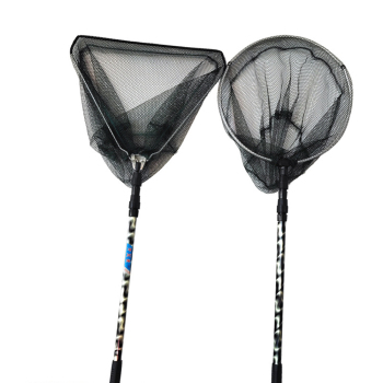 Fishing Landing Net Aluminum Alloy Retractable Telescopic