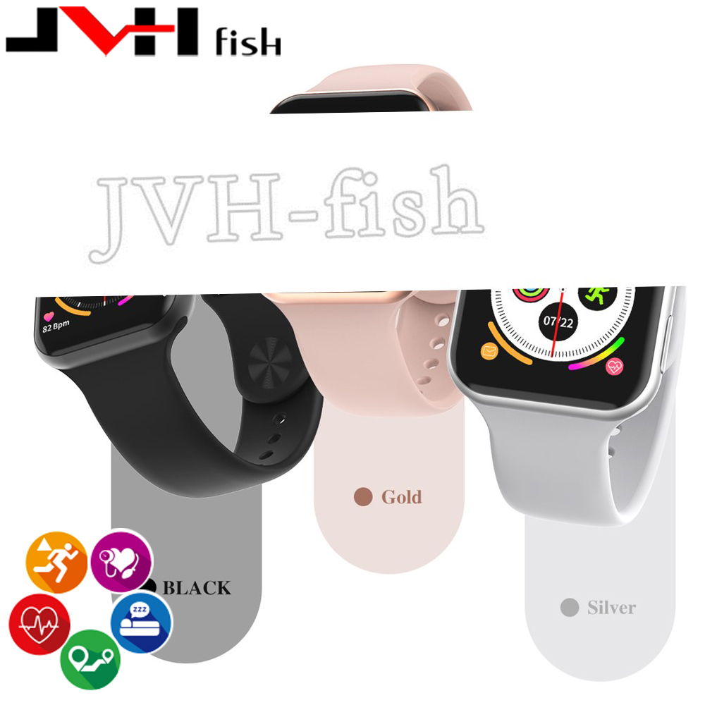 <font><b>IWO</b></font> <font><b>8</b></font> MAX <font><b>Smart</b></font> <font><b>watch</b></font> <font><b>44mm</b></font> Full Touch Fitness Tracker Sport Smartwatch Bracelet Replacement for Android IOS Pk W34 Iwo9 F10 image
