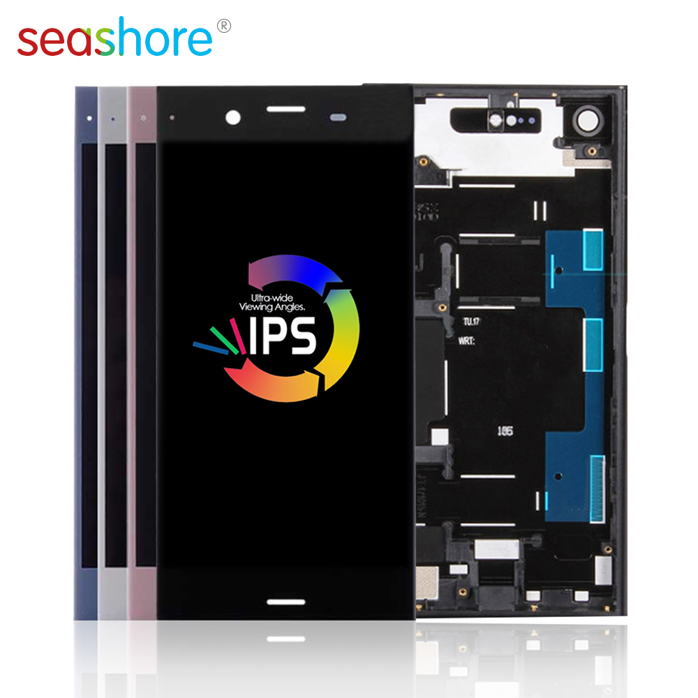 ORIGINAL For SONY Xperia XZ1 LCD Touch Screen Digitizer Assembly For Sony XZ1 Display Replacement G8341 G8342 F8341 Dual F8342(China)