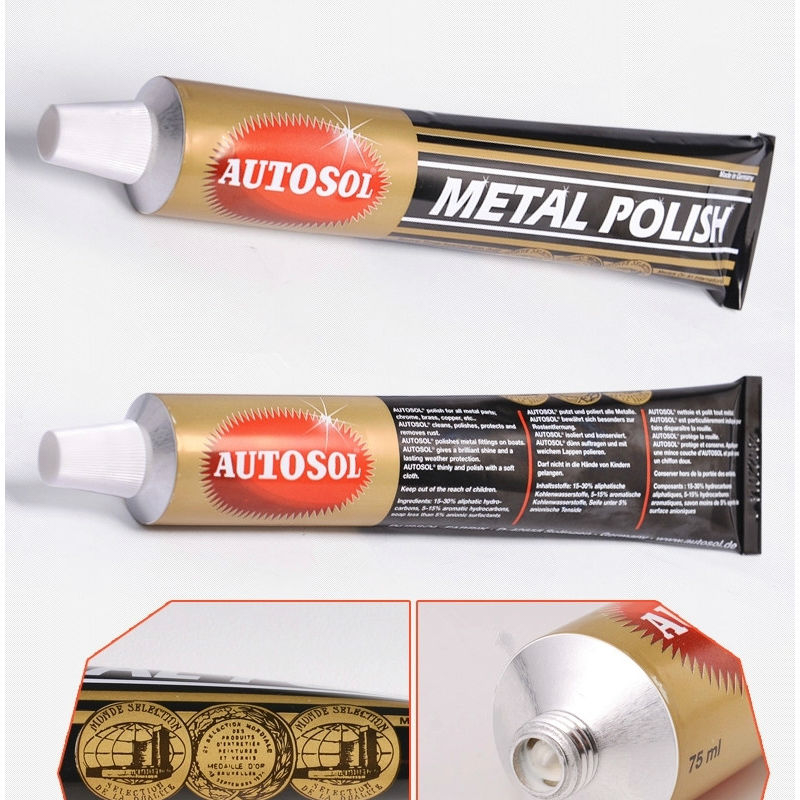 Metal Polish Paste For Cars Watch Mirror Wax Grinding Polishing Paste Wax Metalworking Metal Tools