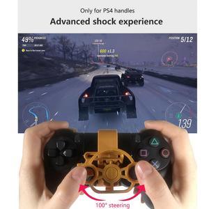 Для PS4 игровой гоночный руль 3D Печатный Мини-Автомобильный руль для вождения игровой ручки добавить для контроллера playstation 4 PS4