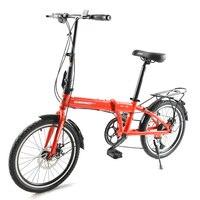 Bicicleta dobrável  bicicleta  ultra leve  mini rodas portáteis  velocidade variável e amortecedor  20 polegadas adulto masculino e feminino st|Bicicleta| |  -