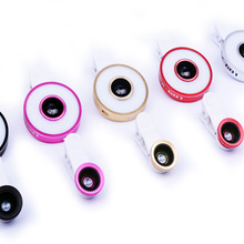 Линза для мобильного телефона, прожектор, внешний универсальный широкоугольный светодиодный макро-объектив «рыбий глаз» для селфи, шесть в одном, заполняющий светильник