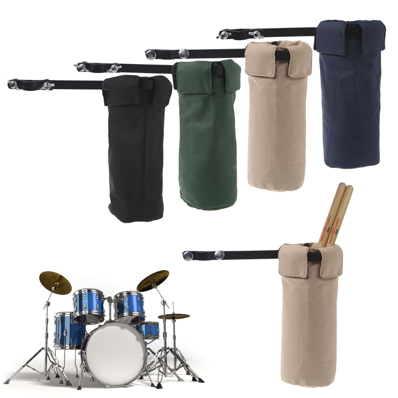 Drum Sticks Holders Clip On Stand Drumsticks Cases Drummer Accessories New M7DC image