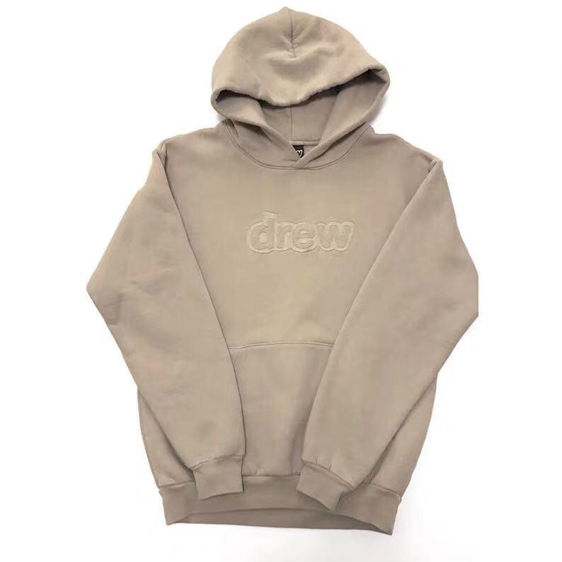 2019 Just Bieber DREW House Embroidery Women Men 1:1 Hooded Sweatshirts Hoodie Hiphip Oversized Men Casual Hoodie Pullover