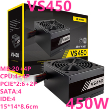 New PSU For Corsair Brand 80plus EU Game Stability Silent Non-modular Power Supply 450W Power Supply VS450