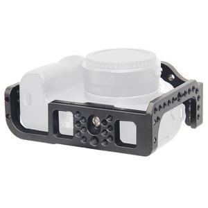 Image 5 - Kamera kafesi Video Film Film Rig sabitleyici Canon EOS R tam çerçeve ILDC kamera + soğuk ayakkabı dağı sihirli kol Video ışığı