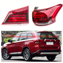 For Mitsubishi Outlander PHEV 2016-2018 Rear Tail Light turn signal taillights assembly Rear Bumper Light Brake Light brake tail light for mitsubishi outlander sport 2016 2017 2018 reflector fog light lamp oem 8337a137 rear bumper signal light