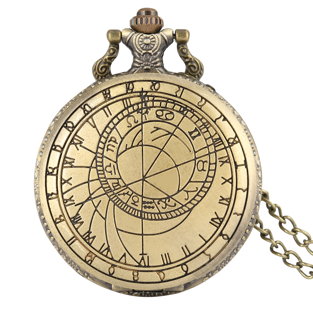 Retro Doctor Who Tardis Pocket Watch For Men Geometry Pattern Case Clock Necklace Slim Chain Pendant For Male Reloj De Bolsillo