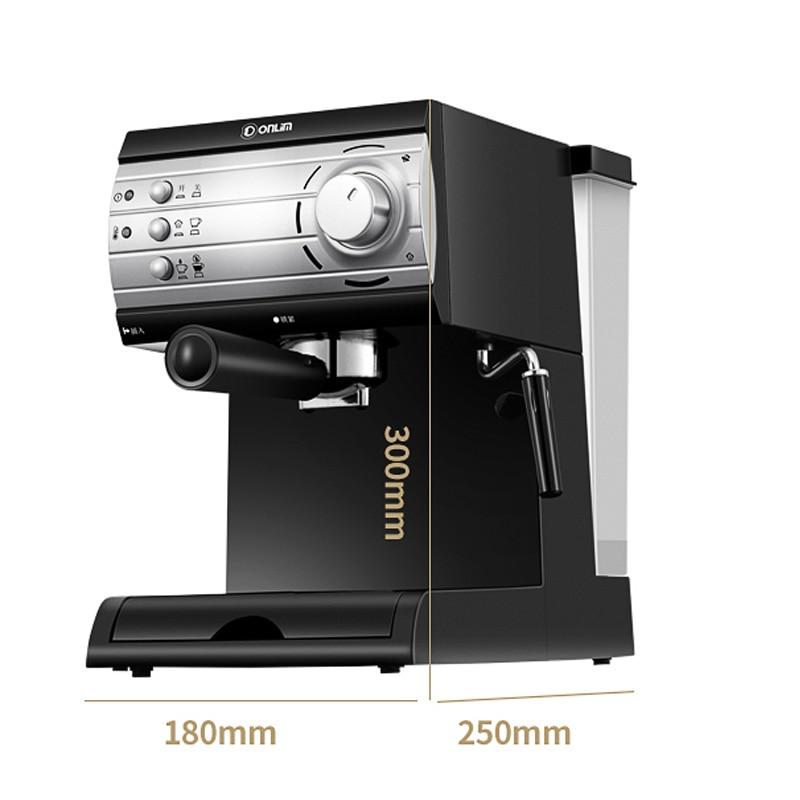 110/220V Italian coffee machine 20Bar high -pressure pump steam coffee machine pull flower coffee machine 11-15 cups