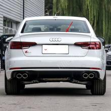 Alerón trasero para Audi, A4, B9, 2017, 2018, 2019, 2020, material ABS, negro o sin pintar, con imprimación de color, para Audi A4 B9