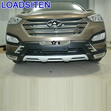 Automobile Styling Exterior Tuning Car Front Lip Rear Diffuser Bumpers 07 08 09 10 11 12 13 14 15 17 FOR Hyundai Santa Fe santa fe junior