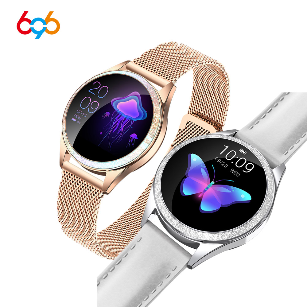 KW10 KW20 Smart Watch Women 2018 IP68 Waterproof Heart Rate Monitoring Bluetooth For Android IOS Fitness Bracelet Smartwatch 1