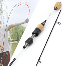 NEW 1.68M 1.8M Carbon Lure Fishing Rod 1-6g Lure Weight Ultralight Spinning Rods 3-7LB Line Weight Spinning Rod Fishing Tackle