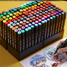 TOUCHFIVE Markers 12 36 48 80 168 Colors Dual Tips Alcohol Graphic Sketching Markers Pen for Bookmark Manga Drawing Art Supplies