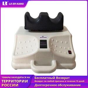 Image 1 - Máquina Eléctrica de oscilación aeróbica para pies oscilantes, masajeador de fisioterapia para cintura, dispositivo de tracción de columna vertebral Cervical y lumbar