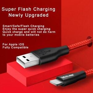 Image 3 - VOXLINK 5V 2.4A USB כבל עבור iPhone x 8 8 בתוספת 8pin USB טעינת כבל נתונים עבור iPhone 7 7 בתוספת 6 6s 6 בתוספת 6sPlus 5S SE iPad אוויר