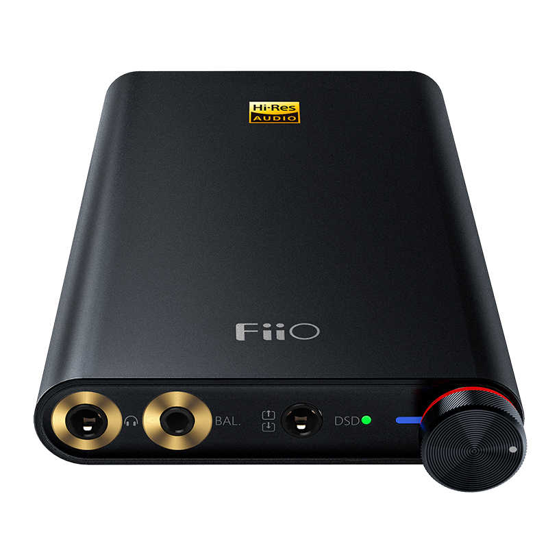 Fiio Q1 Mark II/FQ1222 Audio Resolusi Tinggi Asli DAC DSD Headphone Amplifier Xmos 384 KHz/32 bit untuk iPhone/iPad/PC AK4452 Q1II