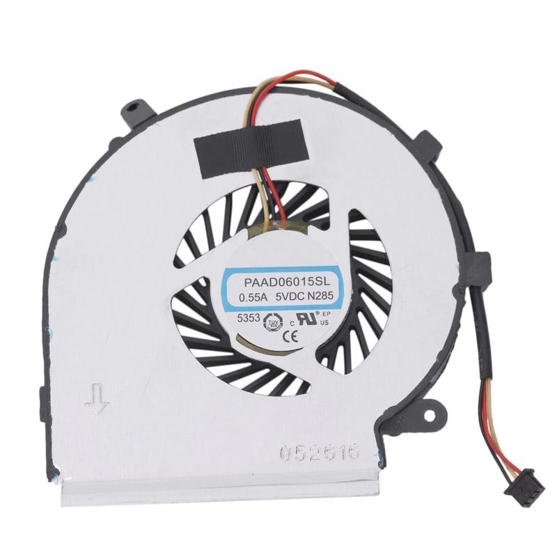 Cpu Cooling Fan For Msi Ge62 Gl62 Ge72 Gl72 Gp62 Gp72 Pe60 Pe70 Series 3Pin 0.55A 5Vdc