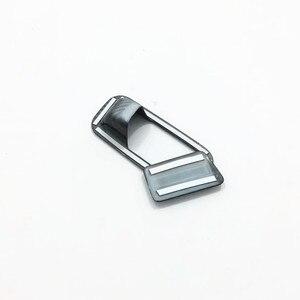 Image 5 - Für Hyundai Kona Encino 2018 2019 ABS Carbon Fibre Zubehör Auto Copilot handschuh Box griff bowl Abdeckung Trim Styling 2 stücke