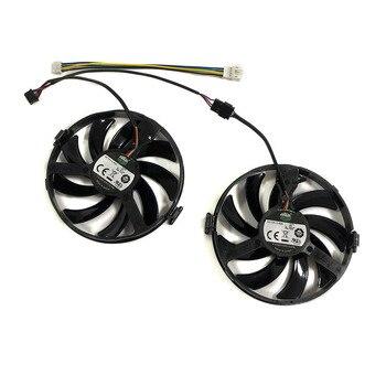 XFX RX460 R9-380X R7-370 GPU VGA chłodnica wentylator dla XFX RX460 2gb/4GB R9 380X R7 370 karty wideo Grahics jako zamiennik