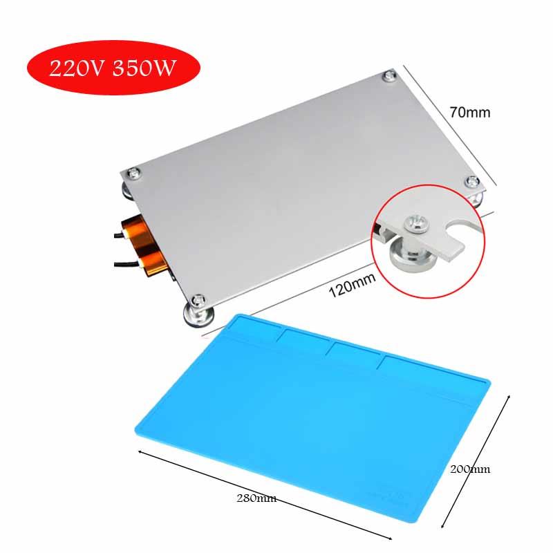 Led Lamp Bead Desoldering Station Preheating Plate For Heating Plate LCD Lamp Strip Desoldering BGA Chip Repair Thermostat Heat