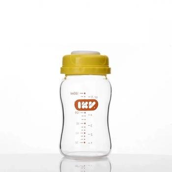 Szklana butelka na mleko butelka do przechowywania rezerwy butelka mleka wysyłka za darmo tanie i dobre opinie Igroway 0-3 M 4-6 M 7-9 M 10-12 M 13-18 M 19-24 M Szkło