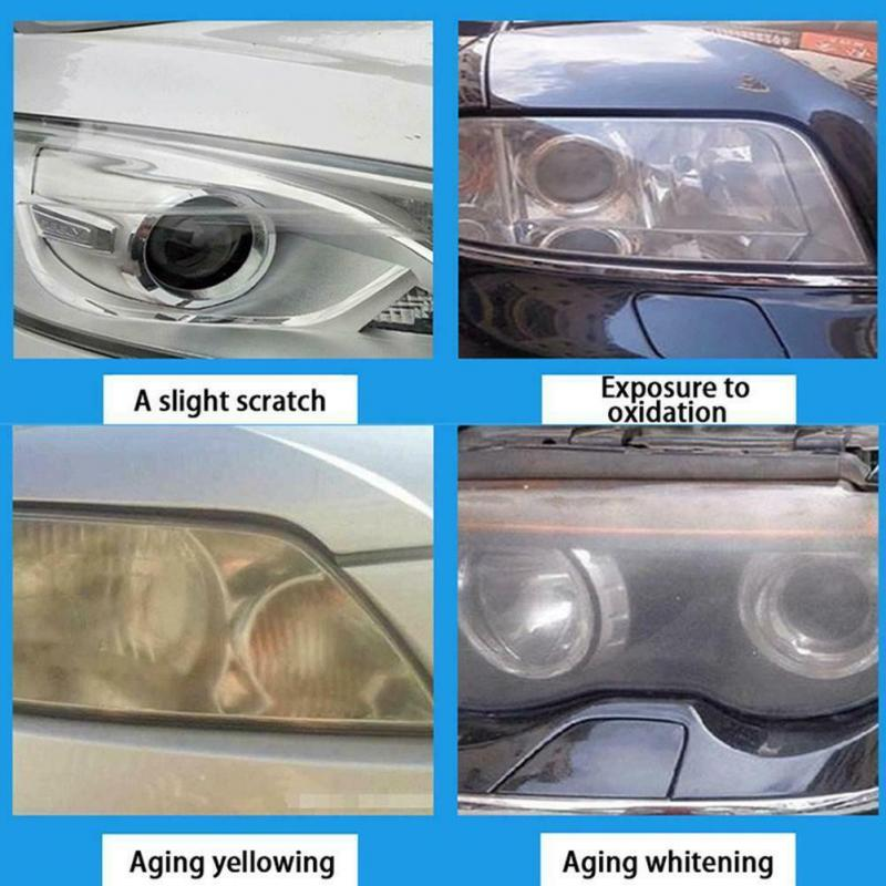 30ml Car Headlight Polishing Agent Scratch Maintenance Clean Agent Spray Polish Repair Fluid Polishing Anti-scratch Liquid 4