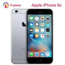 Разблокированный оригинальный Apple iPhone 6s мобильный телефон используется 99% новый 4,7 дюймов IOS 16/64/128 Гб ROM двухъядерный 12 МП камера 3G 4G LTE б/у тел...