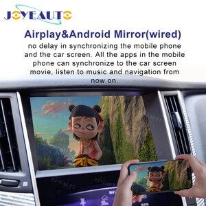 Image 2 - Jogo airplay do carro de wifi do espelho do carro do andróide q60 q50l qx50 para a tela 2015 2019 de 8 polegadas de infiniti