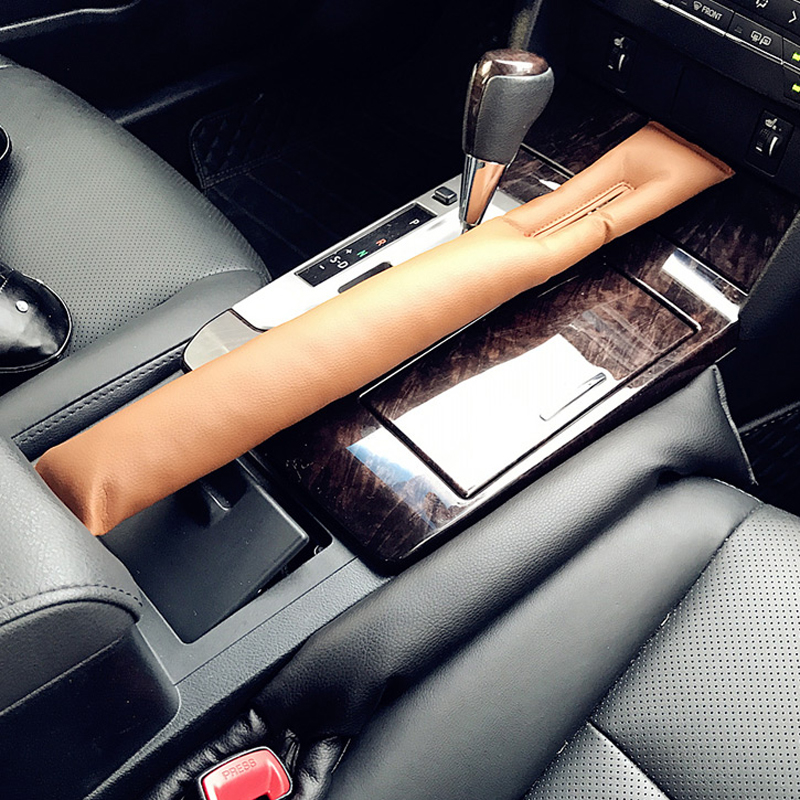 1pcs PU Leather Car Seat Sealing Pad Cover Sewing Pillow Leakage Plug for Nissan Infiniti Audi A series C series S series SQ|Interior Mouldings| - AliExpress