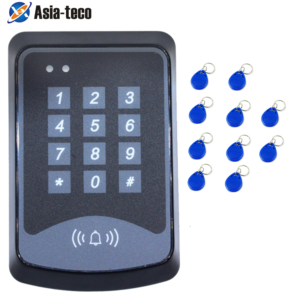 RFID Access Control System Device Machine 125Khz RFID Security Proximity Entry Door Lock