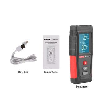 Rz electromagnetic field radiation detector tester emf meter rechargeable handheld portable counter emission dosimeter computer