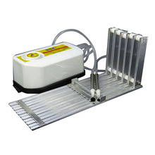 Five slots SMT component placement machine feeder rack manual feed SMD five slot vacuum suction pen