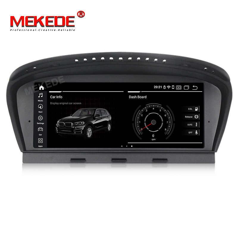 MEKEDE Android9.0 автомобильный gps-навигатор радио плеер для BMW 5 серии E60 E61 E63 E64 3 серии E90 E91 CCC/CIC 4G ram 64G rom