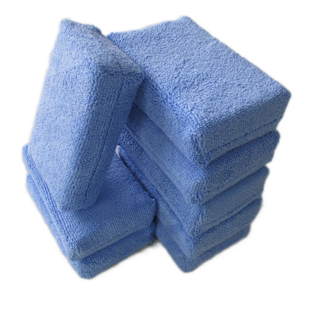 Polishing-Pad Microfiber-Sponge Car-Detailing Auto-Cleaning Sponge-Cloths Car-Wash-Tool