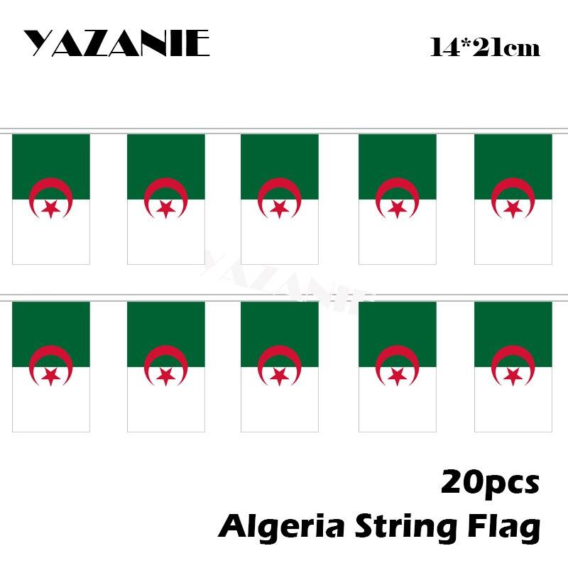 ALGÉRIE Drapeau Brodé iron-on patch algérien Emblème appliqué République