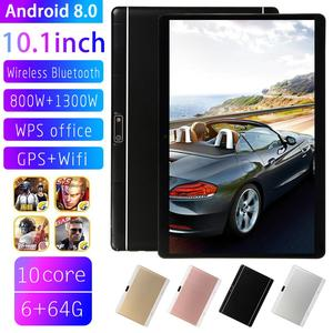 2020 Newest 10 inch Tablet Pc Android 8.0 Dual SIM Cards Phone Call TabletsTablette 6GB 64GB Wifi Bluetooth Android Tablets PC