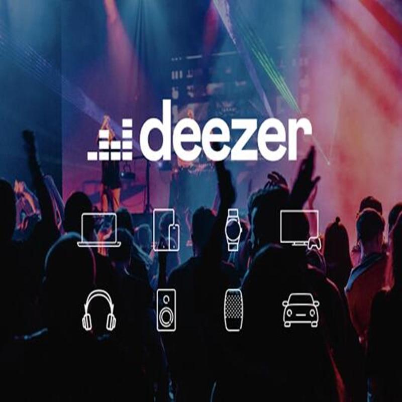1/2/3 Months Warranty DEEZER PREMIUM Works On PCs Smart TVs Set Top Boxes Android IOS Phone
