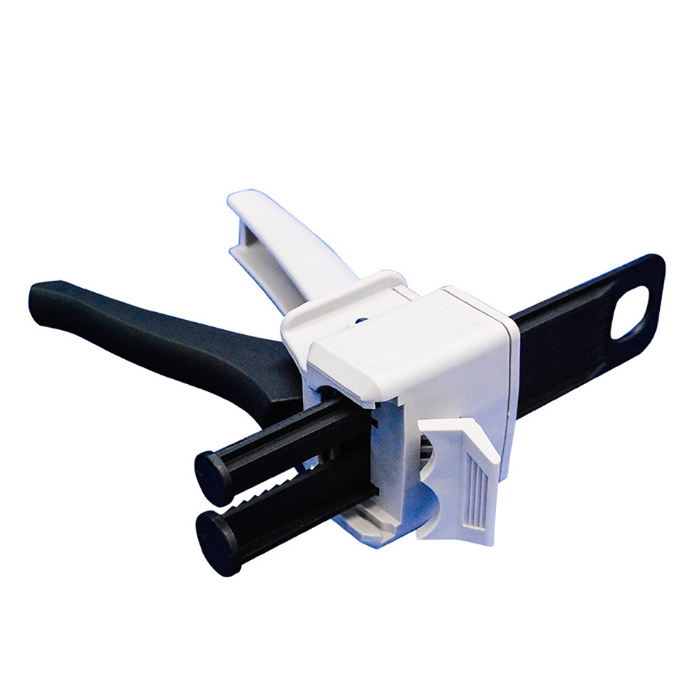 50ml Two Component AB Epoxy Sealant Glue Gun Applicator Glue Adhensive Squeeze Mixed 1:1 2:1 Manual Caulking Gun Dispenser