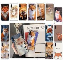 Yinuoda Fox Soft Phone Case For Samsung Galaxy A7 A50 51 A70 80 A40 A20 A30 A8 A20