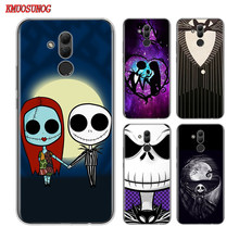 Clear TPU Cover Jack Skellington The Nightmare for Huawei Mate 30 20 20X 10 Lite Y9 Y7 Y6 Y5 Pro Prime Lite 2019 2018 Phone Case(China)