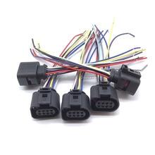 5 x/сиденья для AUDI VW Skoda VAG 8 pin разъем с жильный кабель 1J0973714 для заднего вида парковки Сенсор 1J0 973 714