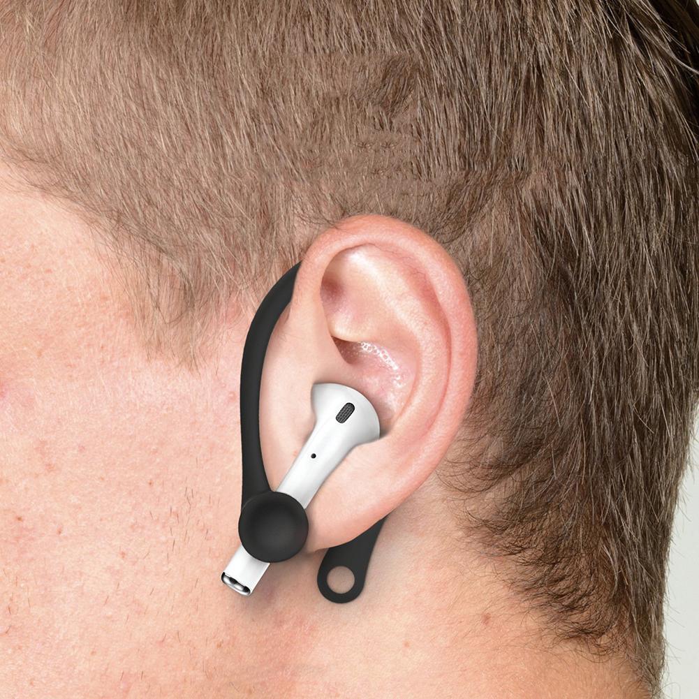 2Pcs Mini Anti-fall Bluetooth Headset Earhooks Earphone Holder For Air-pods 1 2