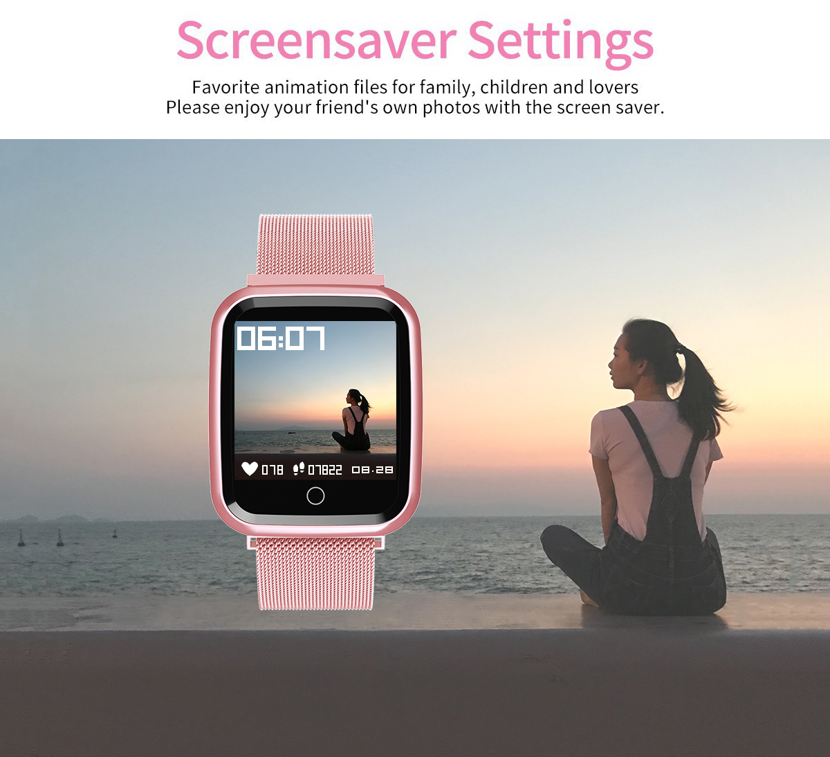 DAROBO N99 Sport and Heart rate monitor Smart watch with Waterproof Blood pressure monitor for men women available in Android IOS 8