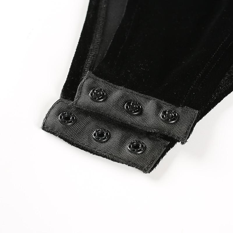 Black Velvet  Bodysuit (5)
