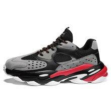 Zapatillas de correr para hombre transpirables, deportivas de malla, para correr, caminar, ligeras