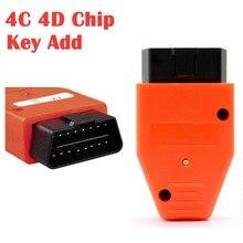 Sadece 20 saniye eklemek için bir anahtar akıllı anahtar üreticisi OBD Toyota ve Lexus için akıllı anahtar üreticisi 4C 4D çip anahtar programcı cihazı