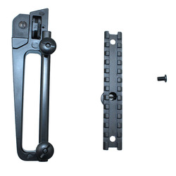 Metal handle and rail adapter Combo/ Detachable Carry Handle A2 Rear View Sights M4 M16 AR15 Hunting Accessories