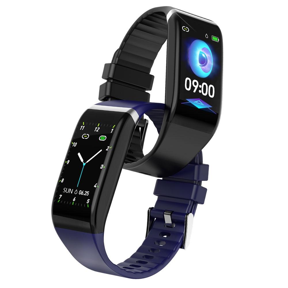 He9c475b0abc147f09ea99552f9ce20e3D Smart Band Blood Pressure 1.14'' Screen Fitness Tracker Watch Heart Rate Fitness Bracelet Waterproof Music Control For Men Women